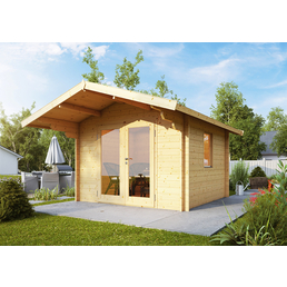 WOLFF Gartenhaus »Bergen 44-B«, B x T: 360 x 450 cm