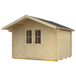 Gartenhaus »Faro«, BxT: 340 x 300 cm (Aufstellmaße), Spitzdach