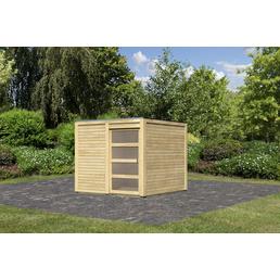 KARIBU Gartenhaus »Karby«, B x T: 484 x 246 cm, Fichte
