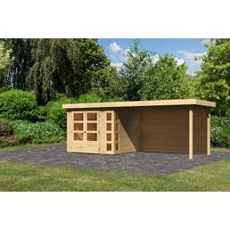WOODFEELING Gartenhaus »Kerko 3«, B x T: 528 x 238 cm, Flachdach