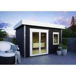 LUOMAN Gartenhaus »Lillevilla 411«, B x T: 373 x 283 cm, Fichte