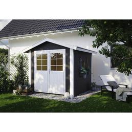 LUOMAN Gartenhaus »Lillevilla«, B x T: 272 x 272 cm, Satteldach, inkl. Fußboden