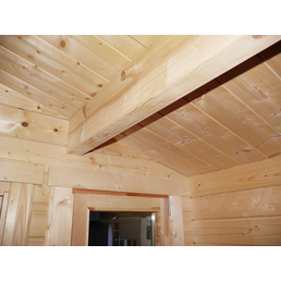 WOLFF Gartenhaus »Nordkap 70-M«, B x T: 540 x 510 cm, Fichte