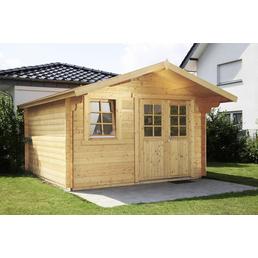 WOLFF Gartenhaus »Oslo 34-G Modern XL«, B x T: 400 x 470 cm