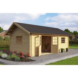 BIOHORT Gartenhaus-Set »Colorado«, B x T: 675 x 490 cm, Fichte