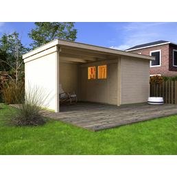 WEKA Gartenhaus-Set »Loungehaus Gr.3«, B x T: 619 x 336 cm