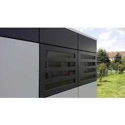 SKANHOLZ Gartenhaus »Sydney 3«, B x T: 253 x 253 cm, Flachdach