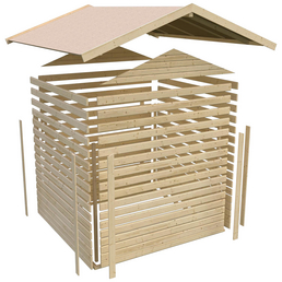 woodfeeling gartenhaus talkau b x t 270 x 234 cm. Black Bedroom Furniture Sets. Home Design Ideas