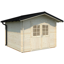 PALMAKO AS Gartenhaus »Tina 7,5«, BxT: 362 x 326 cm (Aufstellmaße), Satteldach