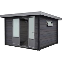 WOLFF FINNHAUS Gartenhaus »WPC-Trend C«, Außenmaß Breite: 300 cm, WPC