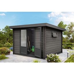 WOLFF Gartenhaus »WPC-Trend D«, BxT: 340 x 332 cm, Pultdach
