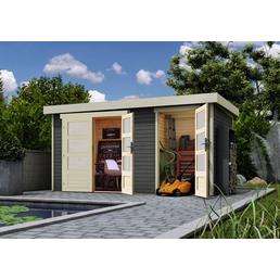Gartenhaus »Zeeland«, B x T: 428 x 262 cm, Pultdach