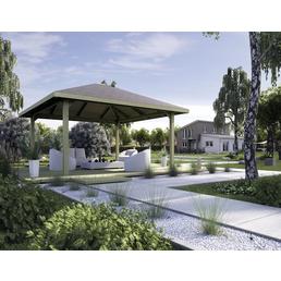WEKA Gartenlaube, B x T: 480 x 480 cm, Zeltdach