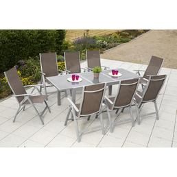 MERXX Gartenmöbel »Carrara«, 8 Sitzplätze