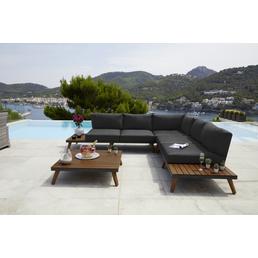 MERXX Gartenmöbel-Eckset »Athen«, 5 Sitzplätze, inkl. Auflagen