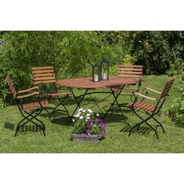 MERXX Gartenmöbel »Schlossgarten«, 4 Sitzplätze, Eukalyptus