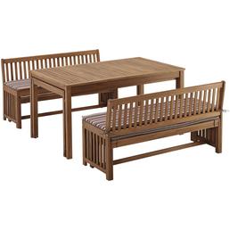 MERXX Gartenmöbelset »Hawaii«, 12 Sitzplätze, inkl. Auflagen, Akazie