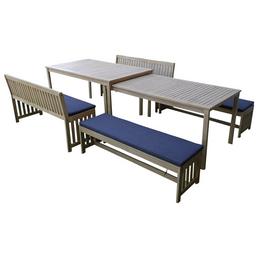 Gartenmöbelset »Tonga«, 6 Sitzplätze, Akazie
