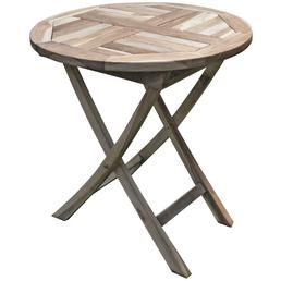 GARDEN PLEASURE Gartentisch »Java« mit Holz-Tischplatte, Ø 70 cm