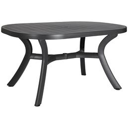 BEST Gartentisch »Kansas« mit Kunststoff-Tischplatte, BxTxH: 145 x 95 x 72 cm