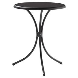 SIEGER Gartentisch mit Mecalit®-pro-Tischplatte, Ø 60 cm