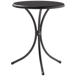 SIEGER Gartentisch, mit Mecalit®-pro-Tischplatte, Ø 60 cm