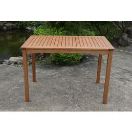 GARDEN PLEASURE Gartentisch »Pittsburgh« mit Holz-Tischplatte, BxLxH: 70 x 110 x 75 cm