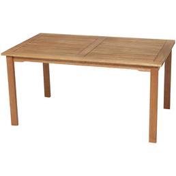 MERXX Gartentisch »Santos«, mit Eukalyptusholz-Tischplatte, BxTxH: 150 x 90 x 75 cm