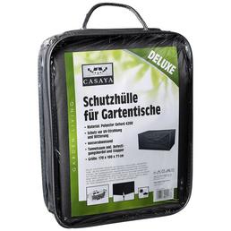 CASAYA Gartentisch-Schutzhülle »Deluxe«, Kunstfaser, grau