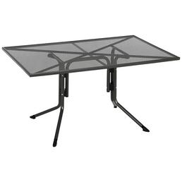 CASAYA Gartentisch »Silon«, mit Stahl-Tischplatte, BxTxH: 140 x 90 x 71 cm