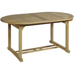 GARDEN PLEASURE Gartentisch »Solo«, mit -Tischplatte, BxTxH: 160 x 95 x 75 cm
