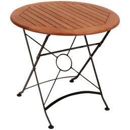 GARDEN PLEASURE Gartentisch »Wien« mit Stahl-Tischplatte, Ø 80 cm