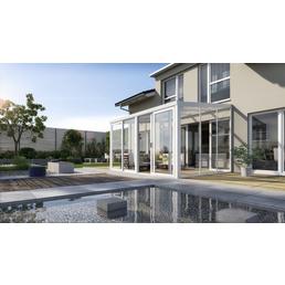 GARDENDREAMS Gartenzimmer »Easy«, Außenmaße B x T x H: 300  x 250  x 266  cm