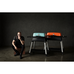 EVERDURE BY HESTON BLUMENTHAL Gasgrill »FORCE «, 2 Brenner, 2 Seitenablagen, mit Unterwagen