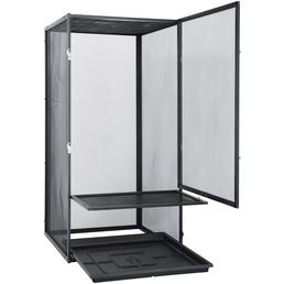EXO TERRA Gaze Terrarium, Screen Terrarium, 45 x 45 x 90 cm, 1 x Substratwanne enthalten