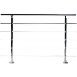 DIEDA Geländersystem, Aluminium, HxL: 100 x 151 cm, eloxiert