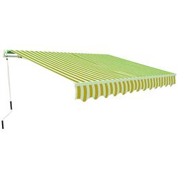 Gelenkarmmarkise, BxT: 300 x 200 cm, gelb/weiss gestreift