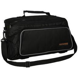 PROPHETE Gepäckträgertasche, Polyester, schwarz