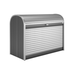 BIOHORT Gerätebox »StoreMax«, aus Aluminium und Stahlblech, 190x136x97cm (BxHxT), 2.080 Liter