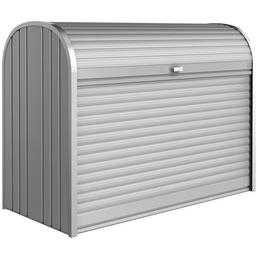 BIOHORT Gerätebox »StoreMax«, BxHxT: 163 x 120 x 78 cm, silber-metallic