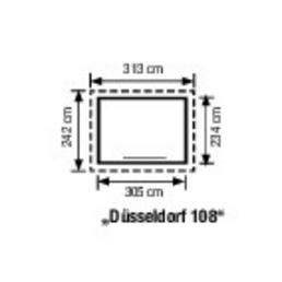 ger tehaus d sseldorf en108g 313cm x 180cm. Black Bedroom Furniture Sets. Home Design Ideas