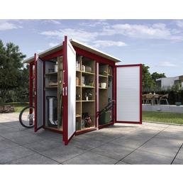 WEKA Gerätehaus »Garten (Q) Multi«, BxT: 224 x 224 cm (Aufstellmaße), Flachdach