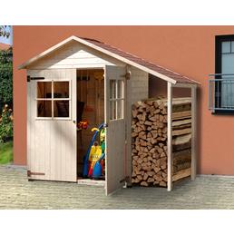 WEKA Gerätehaus »Garten-/Terrassenschrank 357 A Gr.2«, BxT: 270 x 105 cm (Aufstellmaße), Satteldach