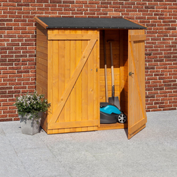 MR. GARDENER Geräteschrank, aus Holz, 149x160x79cm (BxHxT), 1.883 Liter