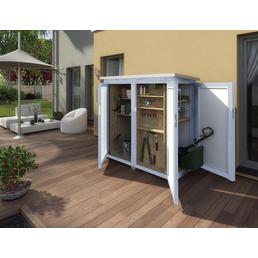 WEKA Geräteschrank »Garten (Q) Teras«, BxT: 170 x 85 cm, Flachdach