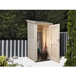 WOLFF FINNHAUS Geräteschrank »Premium Gartenschrank«, BxT: 90 x 103 cm, Pultdach