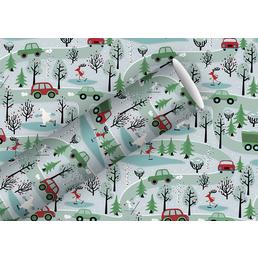 Geschenkpapier Driving Home, 2 m x 70 cm