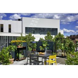 JULIANA Gewächshaus, B x L x H: 60  x 27  x 79  cm, Aluminium