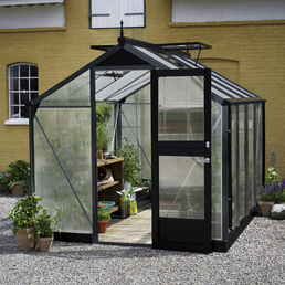 JULIANA Gewächshaus »Compact«, 5,02 m², Kunststoff/Aluminium, winterfest