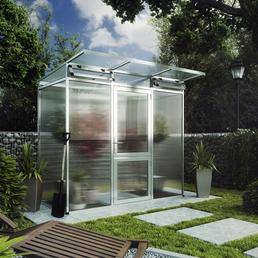 KGT Gewächshaus »Linea«, 2,57 m², Kunststoff/Aluminium, winterfest